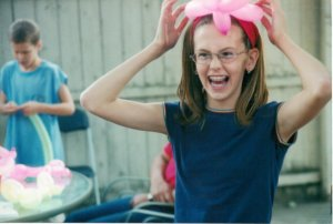 An awkward pre-teen me, mid-orthodontia. I've come too far to mess it up.